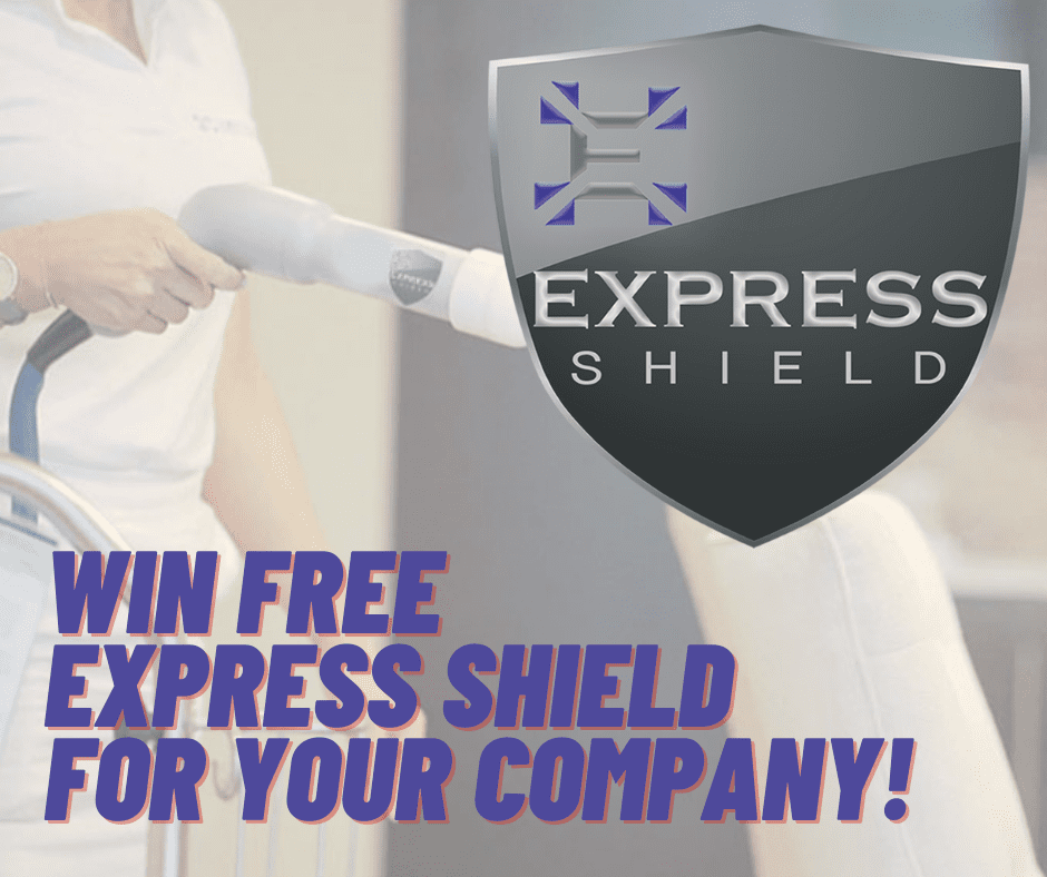 Win free express shield for your company